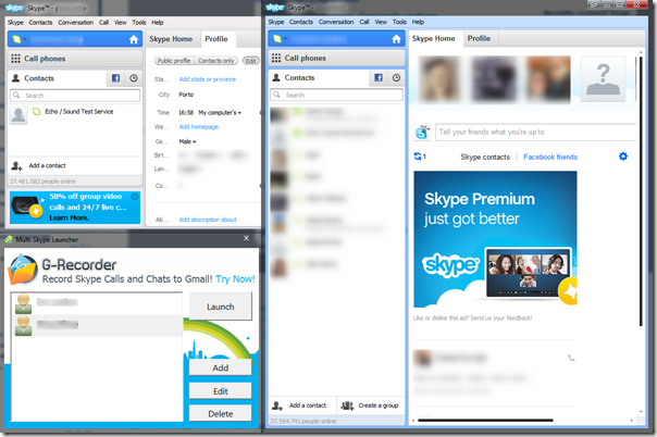 Multiple Skype Accounts Simultaneously