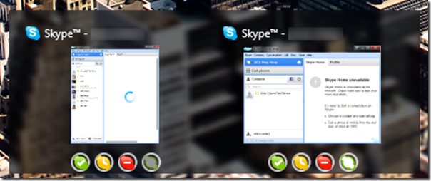 multiple skype accounts side by side Skype Launcher