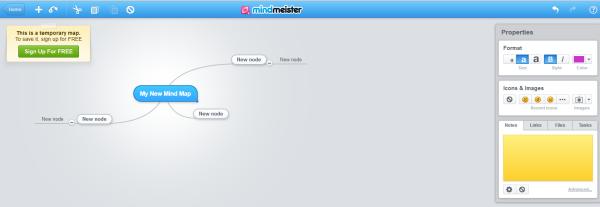 mindmeister brainstorming tool