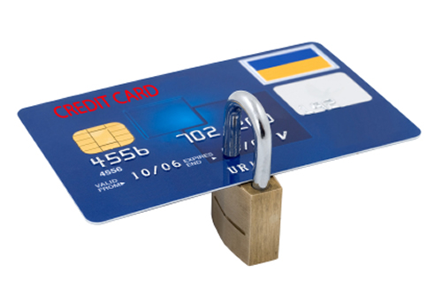 secure online payment through credit card