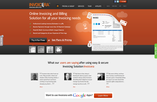 Invoicera Billing Software