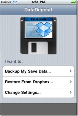 Data Deposit