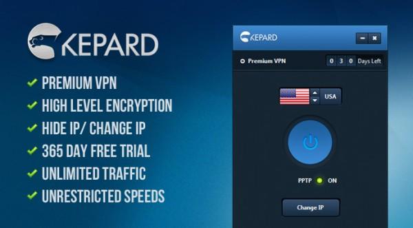 Kepard premium VPN service