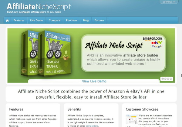 Affiliate Store Website Builder