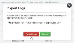 Export Logs