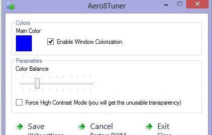 Aero8Tuner