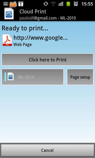 How to Utilize Google Cloud Print for Android