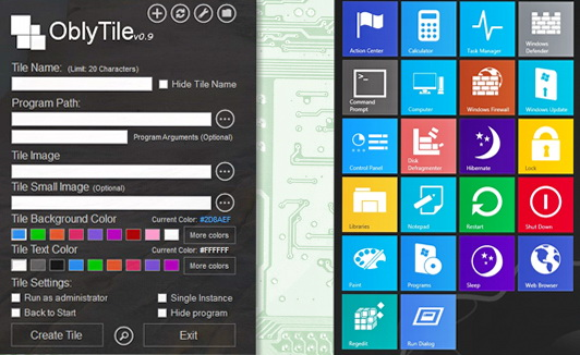 Tools To Customize the Windows 8 Metro Start Screen