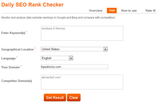 Daily-SEO-Rank-Checker
