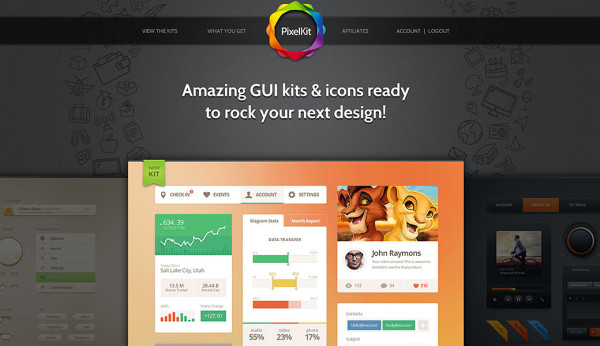 PixelKit Premium UI Kits and Design Resources