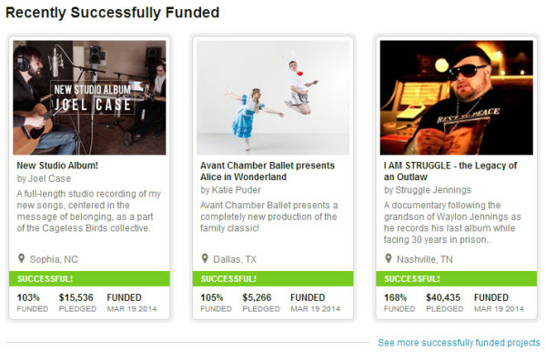 kickstarter-funded-projects