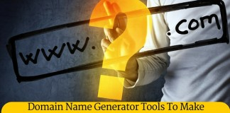 Domain Name Generator tool