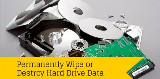 wipe hard drive data