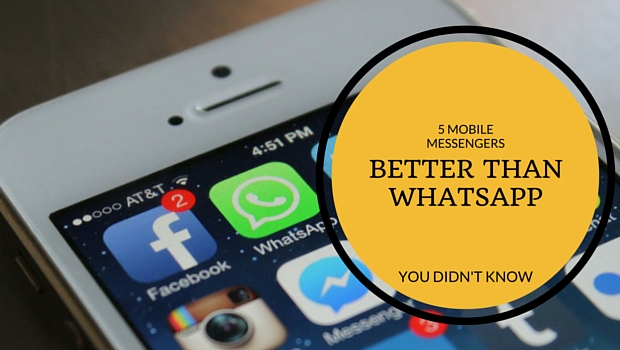 Messenger Apps Better Than Whatsapp