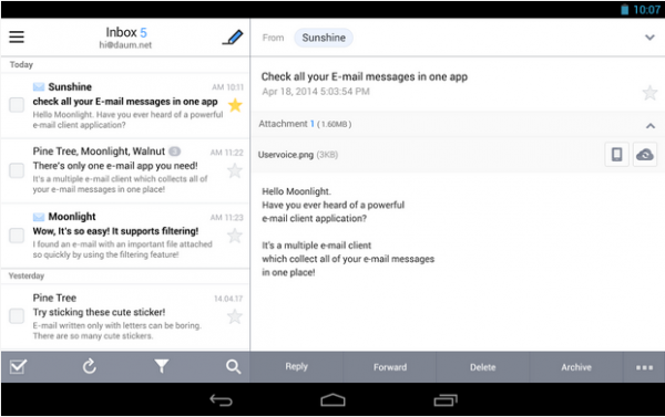 how to delete mass emails from hotmail on android