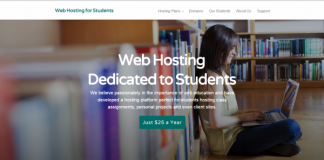 free web hosting forstudents