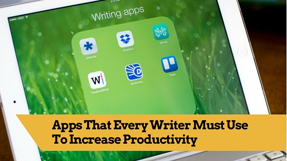 must use writing apps