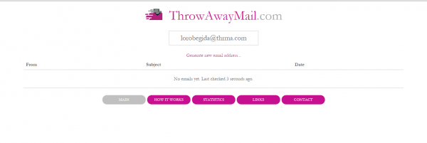 throw away mail