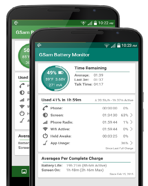 Android battery app