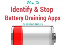 Battery draining apps on Android