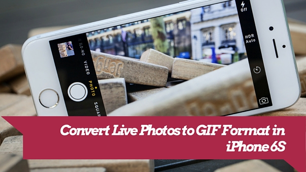 convert live photos to GIF