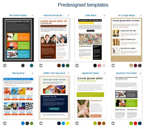getresponse templates
