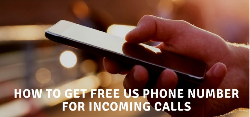 free US phone number for incoming calls