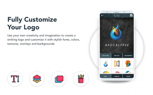 customize your logo with logo maker